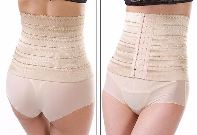 Other Waist Cincher Tummy Waist Trainer Girdle Control Corset Sport Shaper Shaper Cincher Top Black/Beige