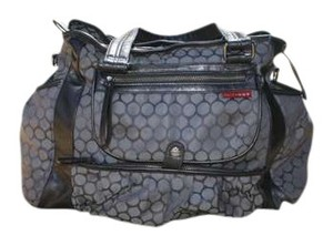 Skip Hop pewter/dot Diaper Bag