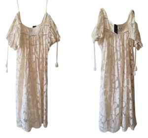 Ann Taylor LOFT short dress Ivory, Off White Lace Country Prairie on Tradesy