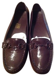 Gucci Loafers Patent Leather Patent Purple Flats