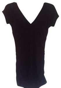 Arden B Top Black V-Neck