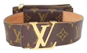 Louis Vuitton Louis Vuitton Monogram Belt w/ Pouch