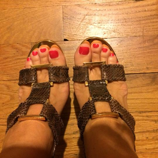 Tory Burch Leather Brown Sandals