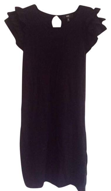 Preload https://img-static.tradesy.com/item/366828/mossimo-supply-co-black-with-ruffles-on-sleeve-above-knee-short-casual-dress-size-6-s-0-0-650-650.jpg