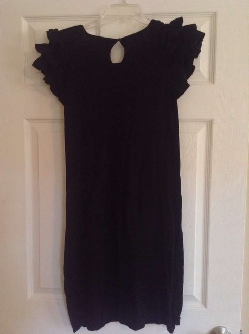 Mossimo Supply Co. short dress Black with ruffles on sleeve on Tradesy