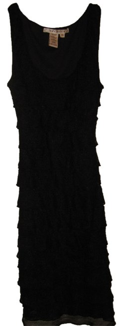 Preload https://img-static.tradesy.com/item/3668458/max-studio-black-ruffle-knee-length-night-out-dress-size-0-xs-0-0-650-650.jpg