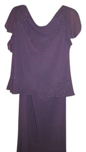 Papell Boutique Majestic in Purple