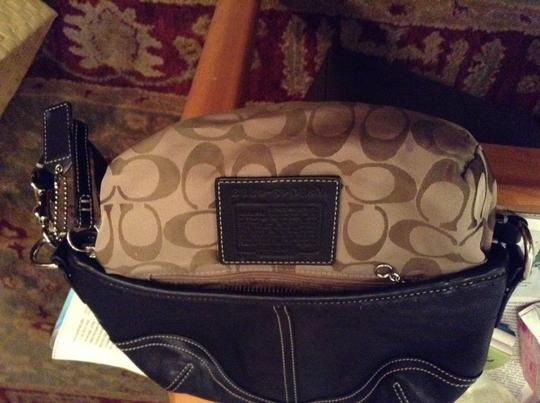 Coach Leather Cute Shoulder Bag