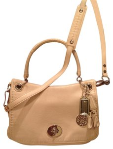 Coach Convertable Shoulder Leather Cross Body Bag