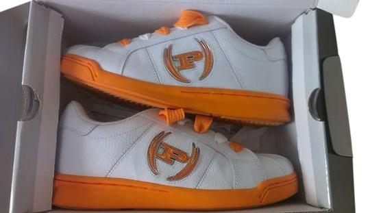 Phat Farm White and Orange Athletic
