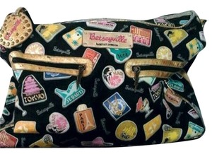 Betsey Johnson Multi Color Travel Bag