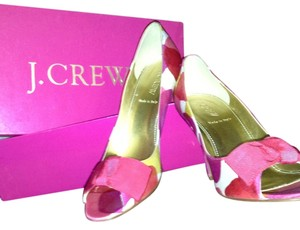 J.Crew Multi-Color Pumps