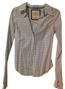 Abercrombie & Fitch Button Down Shirt Light blue