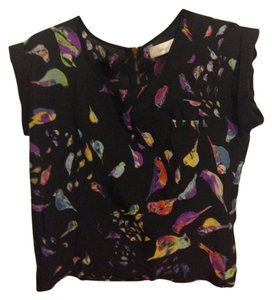 Other Polyester Top Black patterned