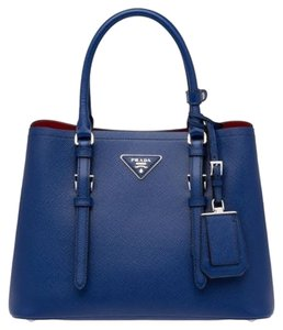 Prada Tote in Ink Blue