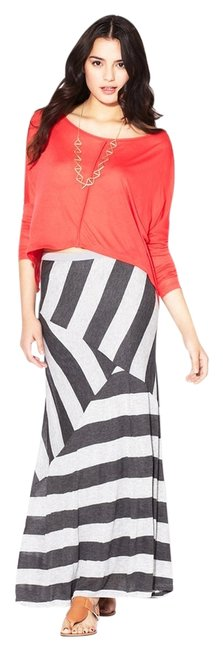 Tart Maxi Skirt black/gray
