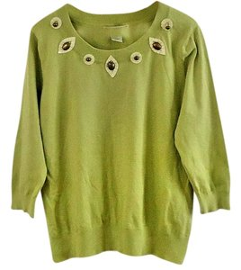 Requirements Bronze Embroidered Sweater