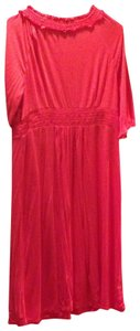 Ann Taylor LOFT short dress Coral on Tradesy