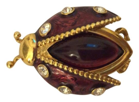 Preload https://item1.tradesy.com/images/dior-gold-toned-vintage-and-rare-christian-ladybug-brooch-3671275-0-0.jpg?width=440&height=440