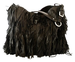 3035fc022ce7 Added to Shopping Bag. Prada Shoulder Bag. Prada Fringe Hobo Br3758 Nero-black  Black Nappa ...