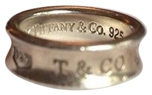Tiffany & Co. Authentic Tiffany & Co. Sterling Silver 925 1997 1837 Ring Size Small