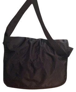 Bloomingdale's Black Messenger Bag