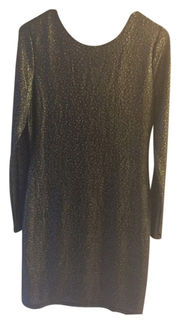 Item - Black Above Knee Night Out Dress Size 8 (M)