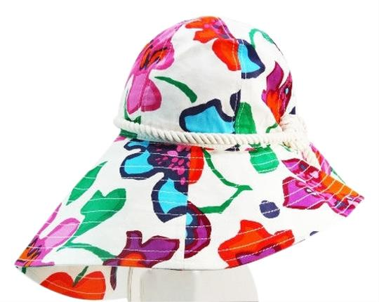 Preload https://item2.tradesy.com/images/kate-spade-kate-spade-new-york-viva-colores-mexican-floral-printed-sun-hat-clotted-cream-3673771-0-0.jpg?width=440&height=440
