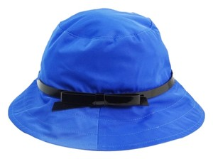 Kate Spade Kate Spade Solid Nylon Blue Bucket Sun Hat NEW