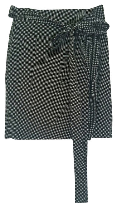 Cerruti 1881 Skirt Black with a white dots