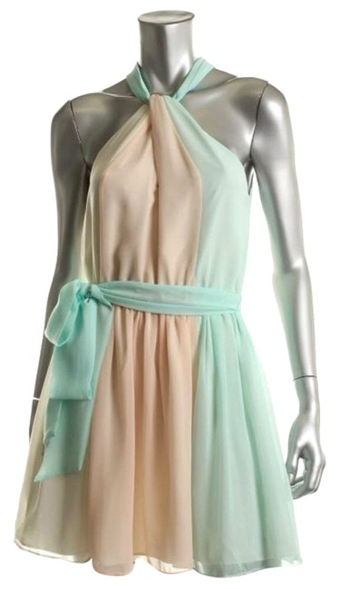 Preload https://item3.tradesy.com/images/victoria-s-secret-light-green-peach-casual-above-knee-cocktail-dress-size-8-m-3673942-0-0.jpg?width=400&height=650