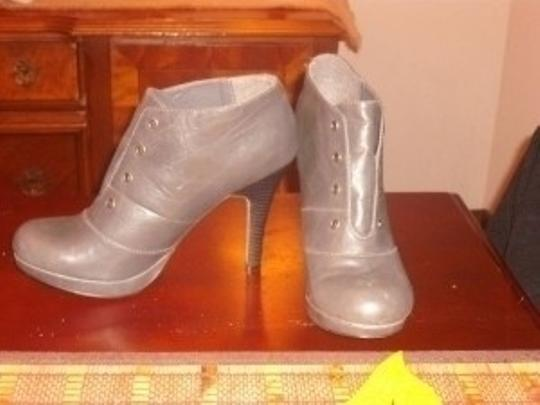 YMI Jeans Grey Boots