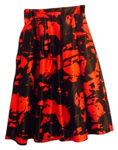 hot Skirt Black and red