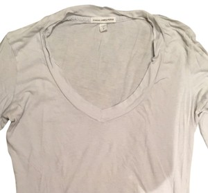 James Perse T Shirt Blue Gray