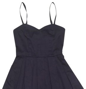Aqua short dress Navy Holiday Formal Party Adjustable Sweetheart on Tradesy