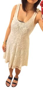 American Rag short dress Ivory on Tradesy