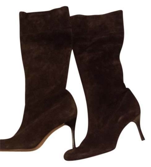 Preload https://img-static.tradesy.com/item/3674539/antonio-melani-brown-leather-suede-bootsbooties-size-us-85-regular-m-b-0-0-540-540.jpg