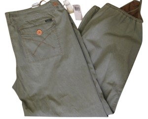 Z. Cavaricci Plus 22 New Baggy Pants Khaki green