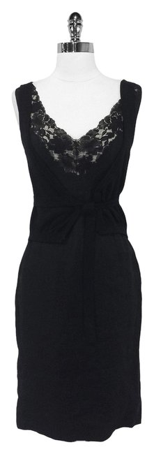 Preload https://item2.tradesy.com/images/dolce-and-gabbana-black-lace-trim-sleeveless-mid-length-short-casual-dress-size-4-s-3675256-0-0.jpg?width=400&height=650