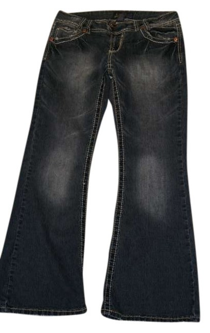 Item - Blue Medium Wash Boot Cut Jeans Size 33 (10, M)