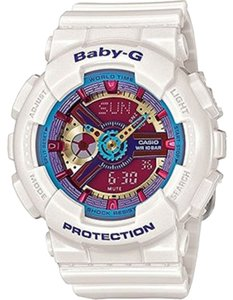 Baby-G Baby G Ladies watch BA112-7ACR Red-Blue Analog/Digital