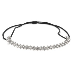 Mariell Vintage Crystal Stretch Headband For Weddings And Proms 4354hb-s