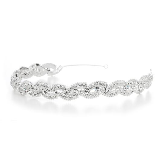 Preload https://item4.tradesy.com/images/mariell-silver-lustrous-headband-with-crystal-braid-3572hb-hair-accessory-3675643-0-0.jpg?width=440&height=440