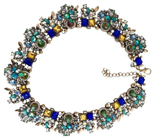 Preload https://img-static.tradesy.com/item/3675670/blue-and-crystal-isolated-sky-necklace-0-0-540-540.jpg
