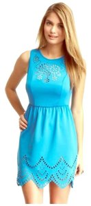 Romeo & Juliet Couture short dress Aqua blue on Tradesy