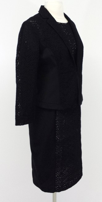 Nougat London Black Cotton Eyelet Dress & Blazer