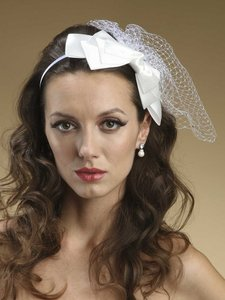 Mariell 5-layer Satin Bow Headband 3352h-w