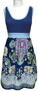 Emmelee short dress blue Boho Boho on Tradesy