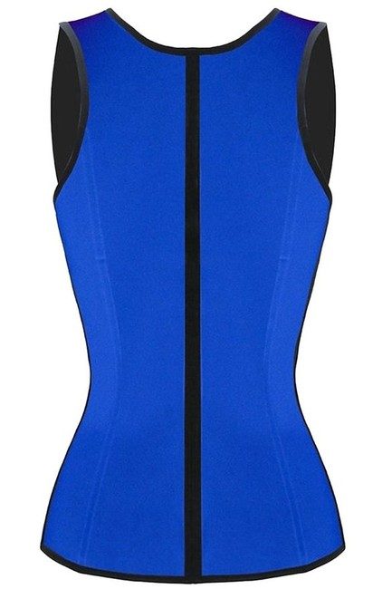 Other Waist Trainer Shapewear Corset Body Shaper Body Shaping Girdle Stomach Women Abs Weight Loss Loss Inches Top Blue