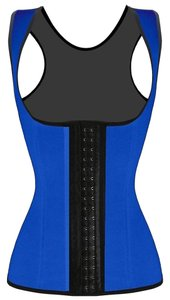 Waist Trainer Shapewear Top Blue